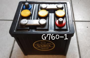 BATTERIE VARTA OLDTIMER 6V 84Ah 390A - 225 X 174 X 221 mm - idéale pour Traction 11BL (légère)