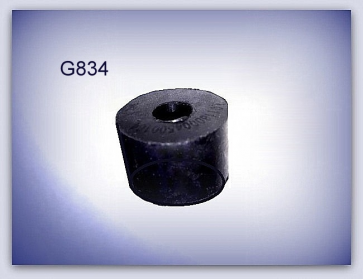 SILENTBLOC en caoutchouc - Ø int 10 mm, Ø ext 34 mm, ép. 14 mm