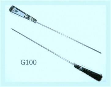 BRAS D'ESSUIE GLACE en inox, longueur 230 mm