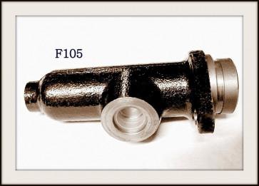 Maitre Cylindre de Frein Ø 22 mm, raccord Ø 12, pas de 125