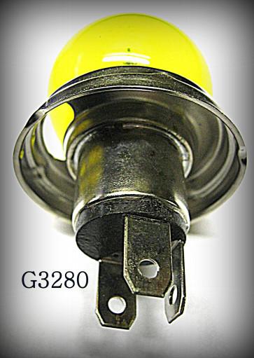 LAMPE CODE PHARE EUROPEEN 12 VOLTS 40 x 45 WATTS avec trou pour veilleuse