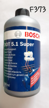 LIQUIDE DE FREIN DOT 5.1, haute qualité (500 ml / compatible avec DOT 3 et DOT 4)