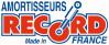 Jeu de 2 AMORTISSEURS télescopiques arrière RECORD FRANCE - SIMCA 1000, tous modèles (de 09/1962 à 07/1973)