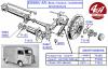 ROULEMENT A ROULEAUX Ø int 45 mm, Ø ext 90 mm, largeur 51 mm - CITROËN HY (essieu AR)