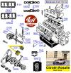 AXES + CHEMISES + PISTONS + SEGMENTS pour CITROËN C4-A-III-E-F-C6-A-F-IX-C4G-C4MFP-Rosalie