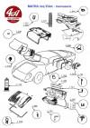 JOINT en caoutchouc pour PARE BRISE - CITROËN Traction 11 & 15-6..., MATRA Jet Djet...
