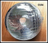 OPTIQUE de PHARE MARCHAL (réplique) + Cercle (portière) chromé - CITROËN Traction 15-6... SIMCA Balilla 6cv, Fiat 508...