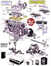 JOINT DE CULASSE - PEUGEOT 201 moteur 3 paliers