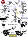 NECESSAIRE de REPARATION CARBURATEUR ZENITH 32 NDIX - PEUGEOT 403..., SIMCA Vedette...