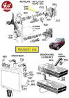 JOINT AD de Pompe à eau Ø int 14 mm, Ø ext 32 mm, largeur 15 mm. Voir véhicules dans description.