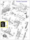 POCHETTE de JOINTS PAPIER de BOITE de VITESSES 330 - RENAULT R8, R10, Caravelle, Floride...