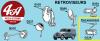 RETROVISEUR INTERIEUR BRAS LONG, voir véhicules dans description du produit