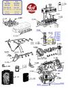 COUSSINETS DE BIELLES STANDARD - R8 Gordini trimétal