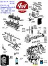 BOUCHON DE VIDANGE (carter d'huile) Ø 18 mm pas 150, pour véhicules RENAULT, MATRA..