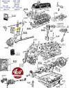 GUIDE de SOUPAPE pour SIMCA 1000, Rallye, R1, R2 et R3