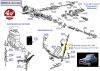 PAIRE D'AMORTISSEURS ARRIERE RECORD - PEUGEOT 403, 404..., SIMCA Aronde, P60 (1951 à 1958), Ariane 4, Vedette...