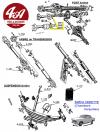 JOINT SPI Ø int 32 mm, Ø ext 52 mm, épaisseur 12 mm, pour SIMCA Ariane, Vedette...